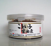 """根室で水揚げされる、「こまい」の魚卵を迅速に処理し、当社独自の醤油だれに漬け込みました。<br />商品は、チルド(冷蔵)となっております。<br /><P><A href=""""http://www.kaneshime-eiho.co.jp/question/komai.htm"""" target=""""_blank"""">氷下魚(こまい)とは?</A></P>"""