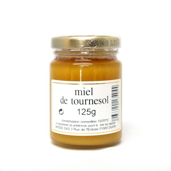 <p>【トゥルヌソル】(ひまわり)<br>ひまわり畑に佇んでいるような、かぐわしい夏の香りと明るく強い風味。花粉を多く含み、切れがあり、コクのある味わい。バタートーストやハード系パン、ヨーグルトの彩りにもどうぞ。コレステロールを防ぐ効果があるとされます。ブルゴーニュ地方をはじめフランス全土の夏に採蜜。</p><p>花言葉は「貴方だけを見つめる」「熱愛」「憧れ」「崇拝」「光輝」など。</p><p>フランス・ブルゴーニュの老舗〈アピディス〉のセレクション。</p><p>※クリーム状タイプのハチミツです。クリーム状と液状の2層に分かれていることがありますが、品質に問題はないので、かき混ぜてお召し上がりください。</p>