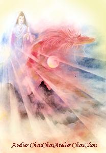 木花咲耶姫と赤い竜