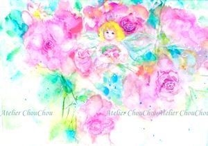 薔薇と妖精