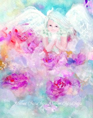 薔薇と天使