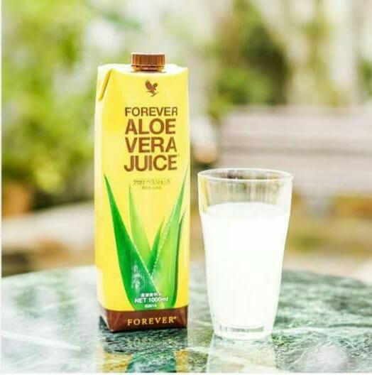 日本で初めて製品化された、<br />商品名、「アロエベラジュース」です