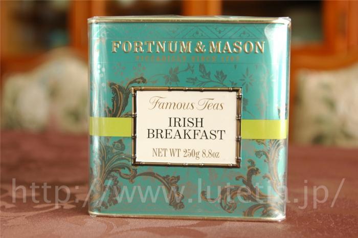 <p>フォートナム・アンド・メイソンのアイリッシュブレックファスト (Irish Breakfast)です。<br><br>厳選されたアッサムとケニアの茶葉のブレンドです。</p><p><br></p>