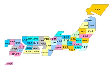 地図グラフのオプション地図 ...