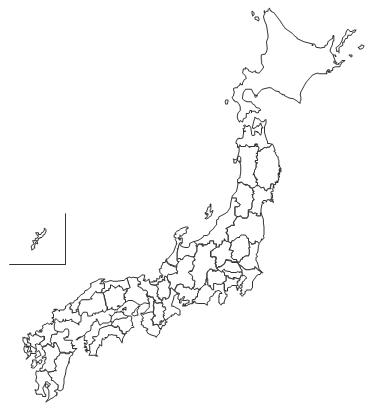 白地図データです。 ・白地図 ...