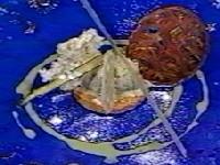 野菜づくしのデザートの一皿