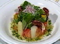 エクルヴィスのサラダ、アジアの香り
