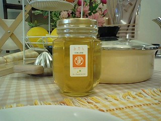さっぱり食べやすいみかん蜜。