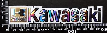 カワサキ kawasaki ステッカー 05457