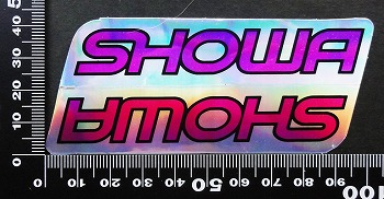 ショウワ SHOWA ステッカー 05722