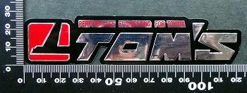 トムス TOM'S ステッカー 05662