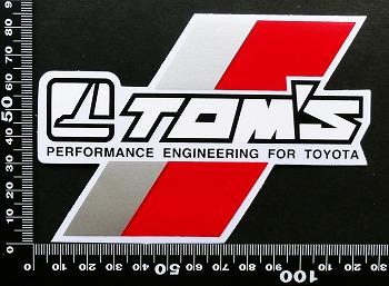 トムス TOM'S ステッカー 05667