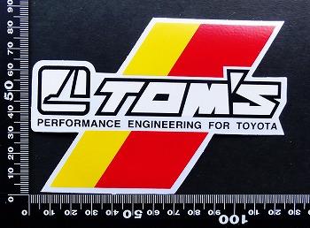トムス TOM'S ステッカー 05668