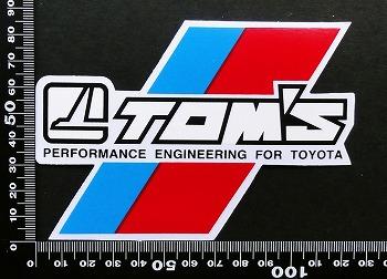 トムス TOM'S ステッカー 05669