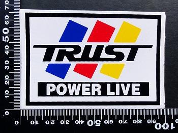 トラスト TRUST ステッカー 05666