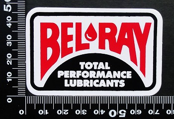ベルレイ BELRAY ステッカー 00212