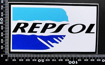 レプソル REPSOL ステッカー 05607