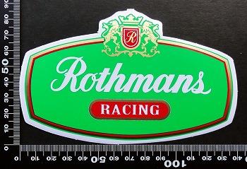 ロスマンズ Rothmans ステッカー 05600