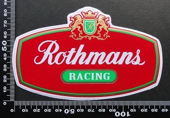 ロスマンズ Rothmans ステッカー 05601