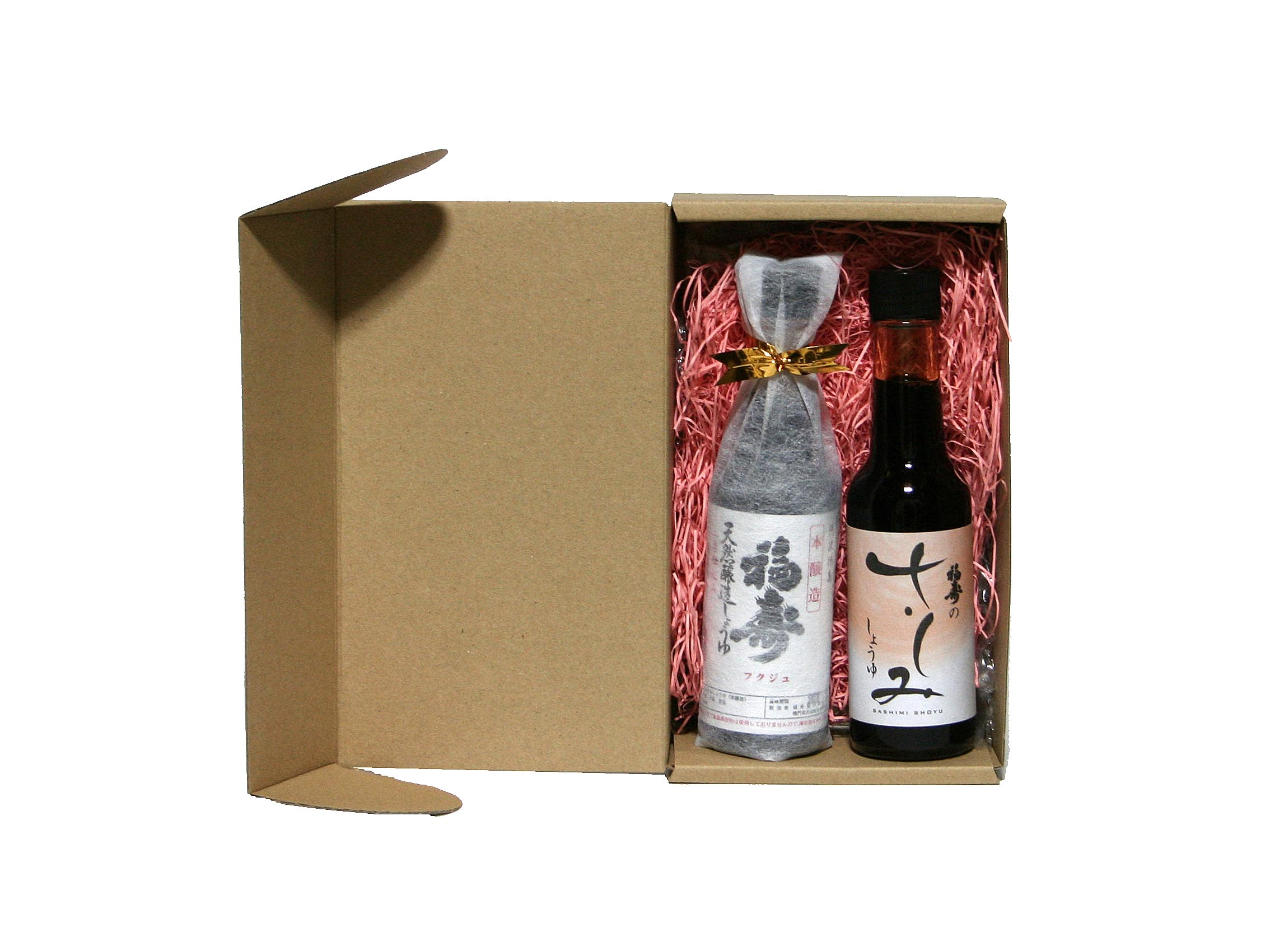 天然醸造醤油とさしみしょうゆのセット