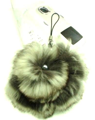 """一番柔らかいチンチラファーの花びらに、チンチラスプリットを渦巻き模様にセッティング<br /><br />毛皮の加工も承っております。<br />丈直しなどで余った毛皮がございましたらチョッピリお安くなりますので、<B><a href=""""http://www.wueda.jp"""">リフォームページ</a></B>をご覧下さい。"""
