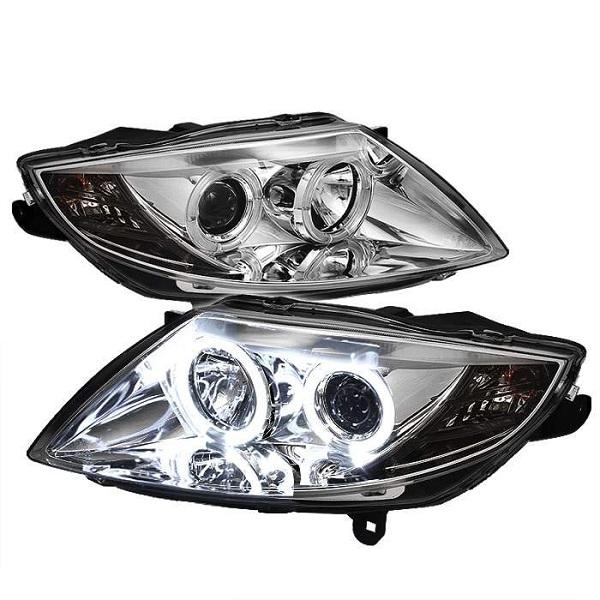 Bmw Z4 E85 Parts: BMW Z4 E85 CCFLイカリングヘッドライト LED Mスポーツ