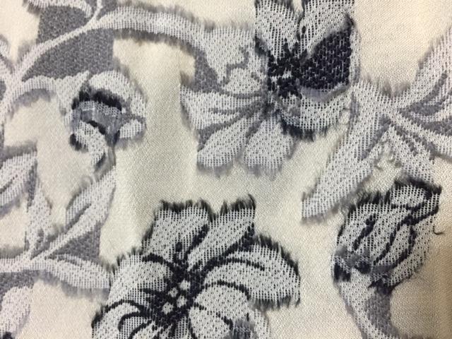 裏地です。プリント柄でなく織物で織られた柄だと分かると思います。