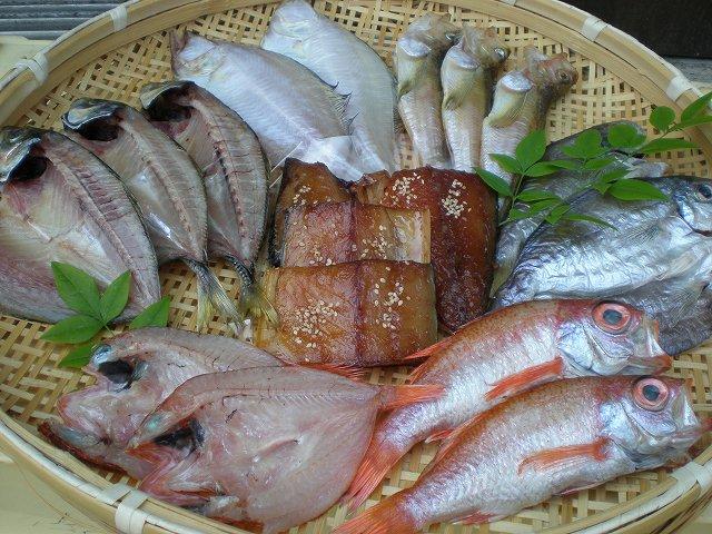 時期により魚種が違います、画像はイメージです。