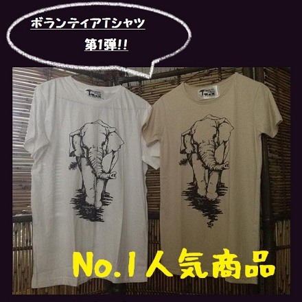 <p>ボランティアオリジナルTシャツ第1弾</p>