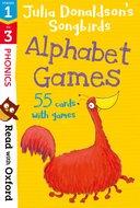 Songbirds Phonics stage1-3: Alphabet Games flashcards