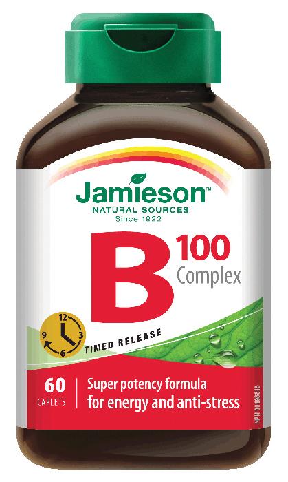 B コンプレックス/ JAMIESON B COMPLEX T/R 60カプセル