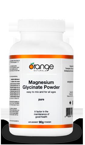 オレンジナチュラルズ マグネシウムパウダー | ORANGE NATURALS MAGNESIUM GLYCINATE PD 200MG