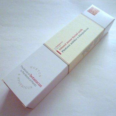 BOTANICUSフェイシャルミルク(アイランドモス)[80]