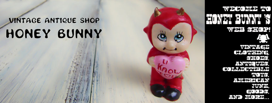 USEDTOY&CLOTHING HONEY BUNNY
