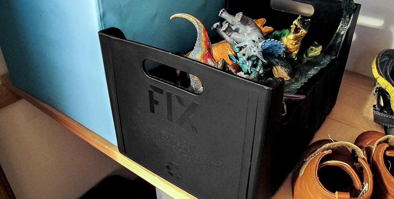 箱はプラスチック製で再利用にも使えるみたいです!