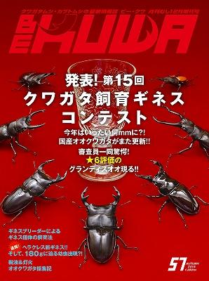 <p>第15回クワガタ飼育ギネスコンテスト</p>