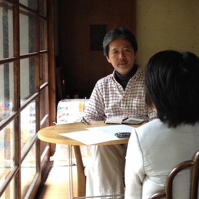 世田谷の古民家での対面指導