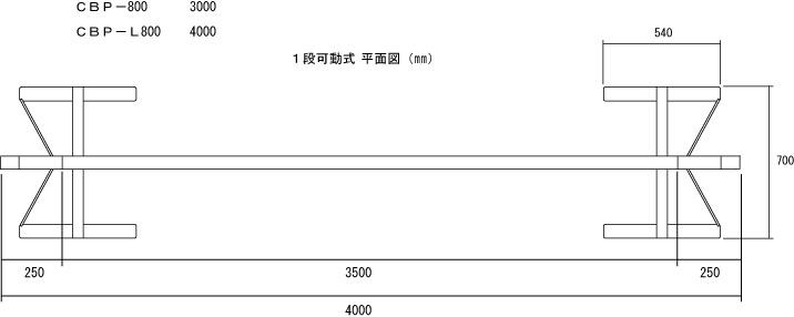 本商品では4m→3mとなります。