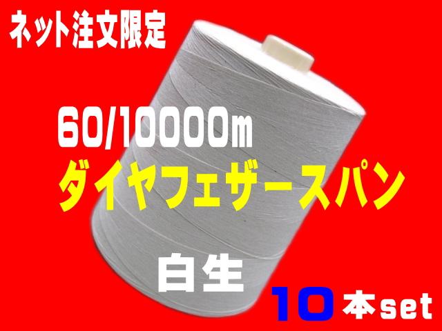 "<div align=""justify"" class=""comment""><font color=""#ff0000""><b>超太巻</b></font><font color=""#0000ff""><b>60/10000mダイヤフェザースパン</b></font>  </div><div align=""justify"" class=""comment""><b><font color=""#000000"">1箱10本set</font></b></div><div align=""justify"" class=""comment""><strong><font color=""#ff0000""><br></font></strong></div>"