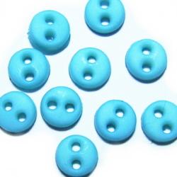 サイズ:4ミリ<br><br>内容量:10ヶ<br><br>後染め、つやなしマットタイプです。<br><br>1/6ドールサイズのお人形のシャツや<br>ブラウスのボタンに適したサイズの<br>小さなボタンです。