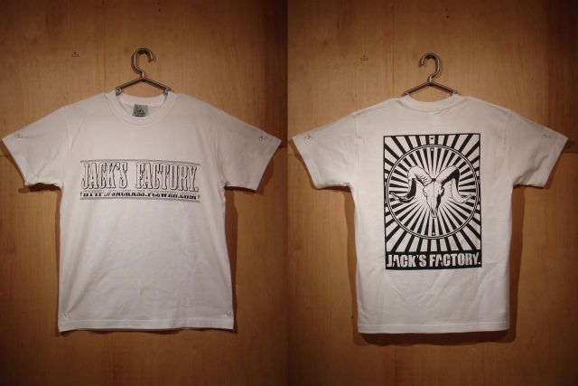 羊スカルT/ホワイト