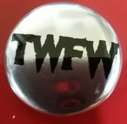 TWFW SILVER  METAL BADGE (直径25mm)