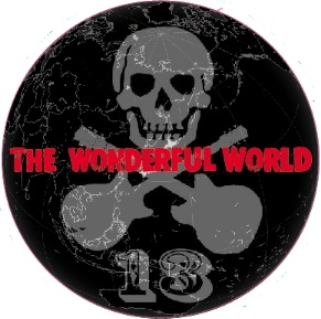 THE WONDERFUL WORLD 2017ステッカー