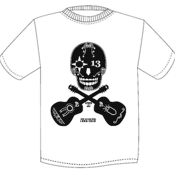 JOE ALCOHOL SKULL Tシャツ