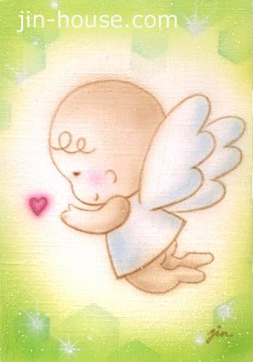 ふんわり天使があなたを癒してくれます