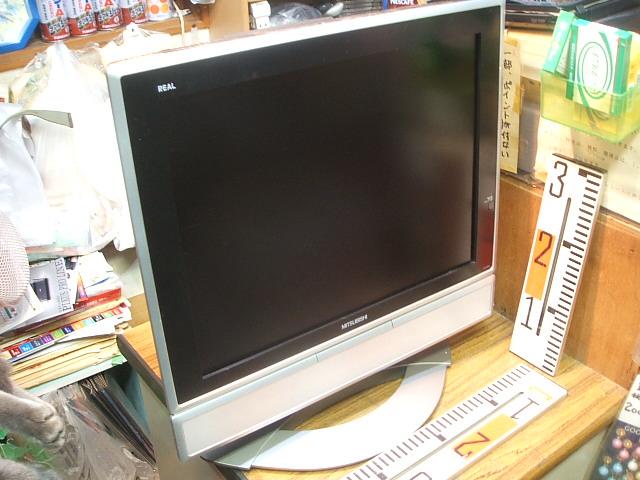 """<p>MITSUBISHI LCD-20V5<br>詳細写真は下記ブログに7枚あります。</p><p><a href=""""http://r1v3rca93.blog76.fc2.com/blog-entry-218.html"""">http://r1v3rca93.blog76.fc2.com/blog-entry-218.html</a><br>三菱20型ステレオ液晶カラーテレビ<br>綺麗に再生します。<br>専用リモコン付き。<br>アナログTVです。<br>外部入力端子よりDVD、ビデオ、ゲーム入力再生できます。<br>別売り地デジチューナーでTV見れます。</p>"""