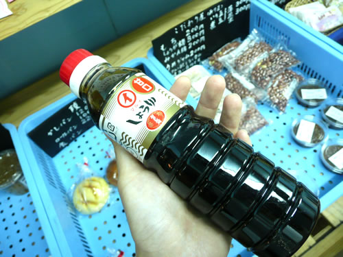 お刺身に最適です!!<br />鹿児島の甘口醤油の中でも<br />坪水醸造さんの「マルイ」醤油は最高ですよ♪