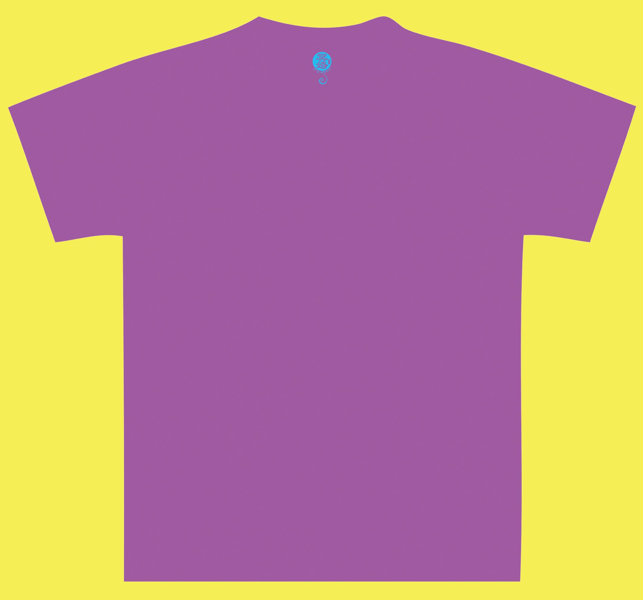 『冥婚ゲシュタルト』Tシャツ(紫)裏