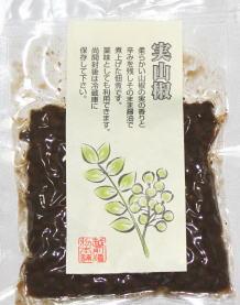 <p>&nbsp;</p><p>やわらかい山椒の実の香りと辛味を残してそのまま醤油で煮あげた佃煮です。薬味として、料理の隠し味としても利用できます。</p>
