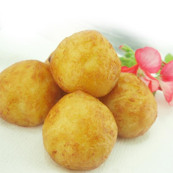 高品質の売れ筋商品!無農薬ジャガイモ使用。 佐賀県産豚肉、佐賀県産たまねぎを使ったさくっとふっくら美味しいじゃが1口ボール